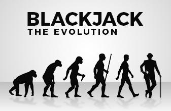 The evolution of blackjack