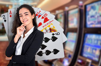 Female pit bosses and female dealers preferred by bob milo