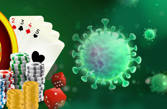 Casino and corona virus covid 19 blackjack21 image