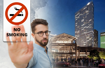 Park mgm in the las vegas will be will be an entirely non smoking casino